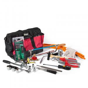 Набор инструментов и приспособлений для монтажа термоусаживаемых муфт НИМ-1 КВТ