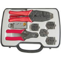 Пресс-клещи HT-330 КВТ(набор инструмента для работы с коаксиальным кабелем)