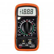 Мультиметр цифровой МAS838 (АС/DC, пост. ток, сопрот., темп., диод. тест)