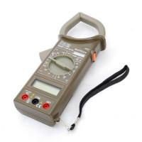 Токовые клещи цифровые М266F (AC/DC, пер. ток, сопрот., прозвонка, диод. тест)