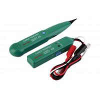 Тестер кабельный-трассоиск MS6812 (поиск кабеля, точки обрыва, контакта, работа с телефон линиями)
