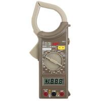 Токовые клещи цифровые М266С (AC/DC, пер. ток, сопрот., прозвонка, диод. тест)