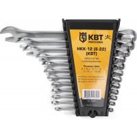 Набор гаечных комбинированных ключей НКК-12 (6-22) КВТ