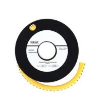 Кабельный маркер 1,5кв.мм 0 черный (к-1000ед) EKF