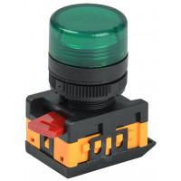лампа AL 22-25 TЕ (зелёная) EKF (уп/10/600)