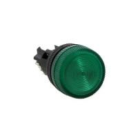 Лампа сигнальная ENS-22 зеленая 220В EKF