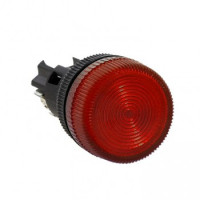Лампа сигнальная ENS-22 красная 220В EKF