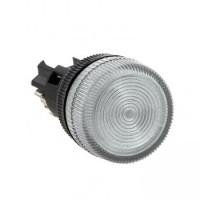 Лампа сигнальная ENS-22 белая 220В EKF