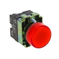 Лампа сигнальная BV64 красная EKF