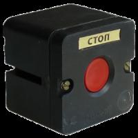 ПКЕ 212-1-У3-IP40-КЭАЗ (красная кнопка)