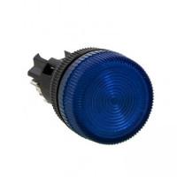 Лампа сигнальная ENS-22 синяя 220В EKF