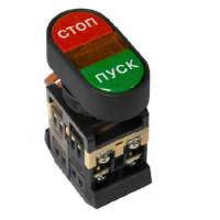 Кнопка APBB-22N Пуск-Стоп овальная 24В NO+NC EKF PROxima