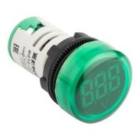 Индикатор значения напряжения зеленый ED16-22VD EKF