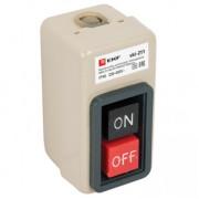 Выключатель кнопочный с блокировкой ВКИ-211 6А 3P IP40 EKF PROxima