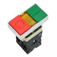 Кнопка LAY5-BW8465 I-O прямоугольная 230В NO+NC EKF PROxima