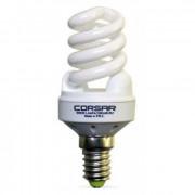 Лампа комп.люмин. спираль YPZQL 9w 2700k E14 Corsar