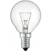 Лампа Philips P45 40W E14 шар прозрачный (уп/10 шт)