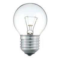Лампа накаливания P45 40W E27 CL шар прозрачный Pilа (уп/10 шт)