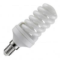 Лампа компактная люминесцентная TOSHIBA Спираль EFS8D/65-E14 дневной свет (уп/20 шт)