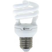 Лампа комп. люмин. HS-полуспир 11W 6400K E14 дневной свет 10000h EKF (уп.10/100)