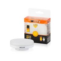 Лампа светодиодная Led R75 6Вт GX53 3000К WOLTA