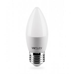 Лампа LED свеча E27 7.5w 3000K 675Лм WOLTA 25YC7.5E27-P