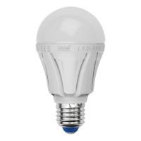 Лампа светодиодная Яркая LED-A60 10W/NW/E27/FR PLP01WH 4000K, 850 Лм TM Uniel (Россия)