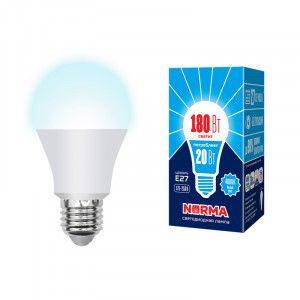Лампа LED LED-A65-20W/DW/E27/FR/NR 1750 Лм 6500K Norma Volpe