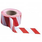 Лента оградительная Эконом 200 п.м., 50 мм (Бело-красный)