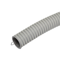 Труба гофрированная ПВХ легкая с/з д63 (15м/360м уп/пал) Промрукав