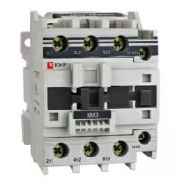 Контактор электромагнитный КМЭ 6511(65А/220В/1НО+1НЗ) 30кВт IP20 EKF (уп/20)