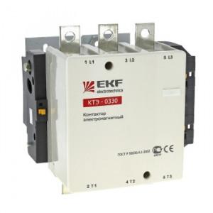 Контактор электромагнитный КТЭ 150А катушка 230В (220В/30кВт, 380В/55кВт, 660В/80кВт) EKF (уп/4)