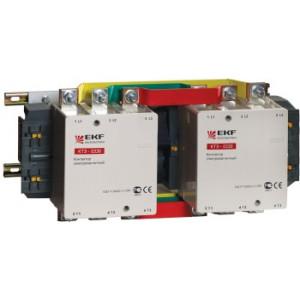 Контактор электромагнитный КТЭ 115А катушка 230В (220В/30кВт, 380В/55кВт, 660В/80кВт) EKF (уп/4)