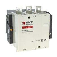 Контактор электромагнитный КТЭ 330А катушка 230В (220В/100кВт, 380В/160кВт, 660В/220кВт) EKF (уп/2)