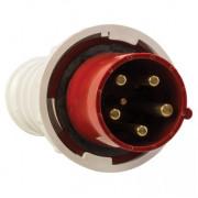 Вилка переносная 035 3Р+РЕ+N 63А 380В IP67 EKF