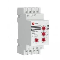 Реле контроля фаз RKF-8 многофункциональное EKF PROxima