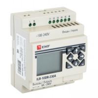 Реле программируемое 10 в/в с диспл. 230В PRO-Relay EKF PROxima