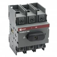Рубильник 100A 3P c рукояткой управления для прямой установки TwinBlock EKF PROxima