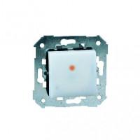 Нажимная кнопка основная с подсветкой и таймером ( 5сек - 15 мин.) 750 Вт