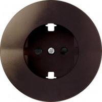 Накладка на розетку 75432-, 75464-39 коричневый Simon 88