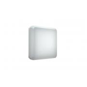 Светильник K 200/209 2х9W накладной квадратный опаловый IP54 (уп/5)