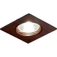 Светильник Quadro 51 0 17 литой, поворотный, с полимерным покрытием, ноче скуро, MR16