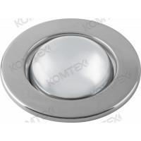 Светильник встраиваемый Norma 80 0 05 под зеркальную лампу R80 E27, хром, диам. отверстия 95 мм Comtech