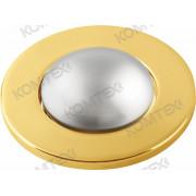 Светильник встраиваемый Norma 39 0 04 под зеркальную лампу R39 E14, золото, диам. отверстия 50 мм Comtech