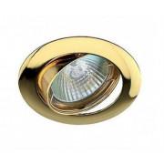 Светильник Gamma 51 1 04 литой, поворотный, золото MR 16