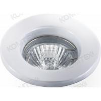 Светильник встраиваемый Carina 35 0 01 под галогенную лампу 35W GU4 белый Comtech