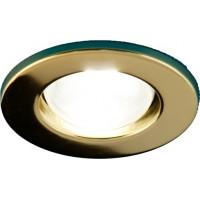 Светильник точечный Prima 50 0 04 R50, золото, Е14