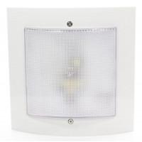 Светильник Интеллект-ЖКХ LED 9Вт 5000К IP54 с оптико-акуст. датчиком и деж. режимом бел. Аргос
