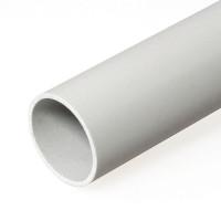 Труба гладкая ПВХ жесткая -63 мм (21), м серая (Урал Пак)